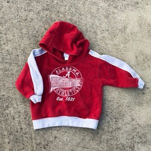 NCAA Alabama hoodie by Outerstuff 2T